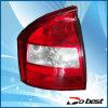 Lampada di coda dell'automobile, indicatore luminoso della coda