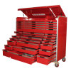 HochleistungsTool Chest mit Aluminum Drawers und Wheels