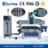 оборудование маршрутизатора CNC Woodworking изменения инструмента 1300*2500mm автоматическое