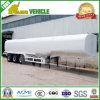 3 reboque especial do petroleiro de petróleo do depósito de gasolina do veículo dos eixos 45000L