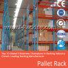 Estante resistente de la paleta del almacenaje del almacén con los certificados del Ce