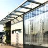 Transparente Belüftung-Streifen-Vorhang-heraus Tür