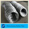 Bride plate de pipe de la face Sch40 de l'acier du carbone ASTM A105