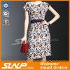 Женщины замыкают накоротко одежды платья/юбки втулки с поясом шкафута