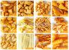 기계를 만드는 튀겨진 가루 간식 공정 라인 /Sanck 음식