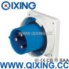 Male Plug를 가진 IEC/Cee IP44 Power Industrial Plug 63A 230V 3p