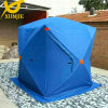 Blaues Thickness Cotton Hub Tent für Winter Fishing
