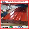 Hoja de acero acanalada revestida del material para techos del color PPGI de Dx51d+Z