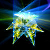 25k con il laser DJ Equipment del laser Lighting RGB di Ilda DMX512 (25CH) 2.4W RGB Animation