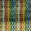 Cortina Chain de alumínio decorativa das cortinas da porta da ligação do metal da tira
