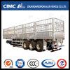 Cimc semi-remorque d'enjeu de cargaison d'alliage d'aluminium d'axes du poids léger 3 de Huajn