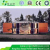 Casa pré-fabricada do contentor para o campo de trabalho