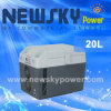 20L Solar Power Mini Freezer for Car with Compressor