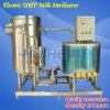 Máquina del esterilizador de Uht del jugo del acero inoxidable