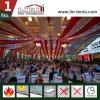 Riesige Ereignis-Zelte mit Futtern u. Vorhängen