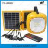 Fabbrica Price 2W Solar Home Lantern con il USB Phone Charger