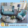 Jeu simple de sofa de tissu de meubles de salle de séjour de type européen nordique
