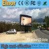 Grand panneau-réclame extérieur polychrome de publicité de l'Afficheur LED P10