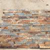 Panneaux de mur en pierre empilés par ardoise rouillée normale (SMC-SCP424)