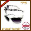 Óculos de sol quentes de Prius dos vidros de Sun das vibrações do projeto de Italy da venda F3406