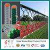 Rete fissa provvisoria rivestita galvanizzata & di plastica di qualità di collegamento Chain