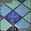 Azulejos de mosaico mezclados del color material de la decoración