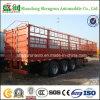 De Chinees Semi Aanhangwagen van de Lading van de Omheining van de Aanhangwagen van de Vrachtwagen 40t 60t 80t