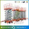 platform van de Lift van de Mens van de Schaar van 10m het Hydraulische Elektrische