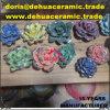 scultura di ceramica Handmade del Figurine della decorazione del fiore del biglietto di S. Valentino della Rosa del biglietto di S. Valentino della porcellana dB2033 per i mestieri