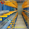 Am meisten benutztes Lager-freitragendes Racking, Stahlrohr-Zahnstange, Stahlrohr-Speicher-Zahnstange