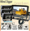 Mine Truck (DF-728T0413)를 위한 7inch Wired Rear View System