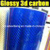 Nuovo Arrival Glossy 3D Carbon Fiber Film