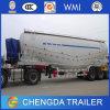 De China 42 Cbm 3 del árbol del cemento del tanque acoplado a granel semi