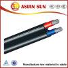 Cable solar XLPE del aislante estándar del TUV y de la UL (PV1-F)