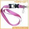 Lanière de polyester de promotion avec la boucle en métal (YB-LY-08)