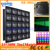СИД Stage Effect Light 25 * 30W СИД Matrix Light