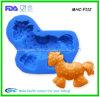 Petit moule de cheval de silicone flexible