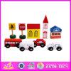 40 Spoor van de Trein van het Stuk speelgoed van PCs het Houten (W04C006)