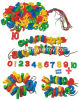 Speelgoed van het Ontwerp van de Vorm van aantallen het Plastic Onderwijs voor Jonge geitjes