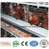 Hot-DIP гальванизированная клетка цыпленка слоя птицефермы