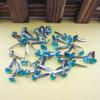 Clavitos de acrílico decorativos del metal