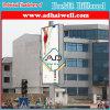 Quadro de avisos eletrônico brilhante da bandeira do poster da cidade do carrinho agradável do projeto