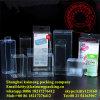 China modificó el rectángulo plástico claro del conjunto para requisitos particulares del almacenaje de los PP para la venta