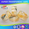 Cinta clara del embalaje de OPP/transparente estupenda adhesiva
