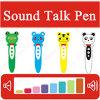 Oso de la rana del ratón que estudia la pluma que habla para los cabritos lenguaje y el ODM educativo del OEM del juguete de los niños musicales de los libros del diccionario