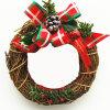 Grinalda Handmade natural do Natal da videira