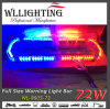 72 LED Emergency Police Car Warning Strobe Lightbar