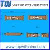 Eindeutiges Produkt passte Kurbelgehäuse-Belüftungusb-Blitz-Laufwerk 2GB 4GB 8GB 16GB 32GB freien USB-Entwurf an