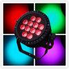 Iluminação da PARIDADE 12X15W Rgabwuv IP65 DJ do diodo emissor de luz do poder superior