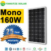Monocrystalline 160W PV обшивает панелями изготовления